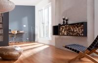steinwand-3-d-design-tokio-white-look-Kaminverkleidung, Wandgestaltung  edel gehalten