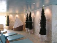 kreuzfahrtschiff-aidasol-wellness-oase-2,modell Steinpaneel Marsalla im  griechischen Look