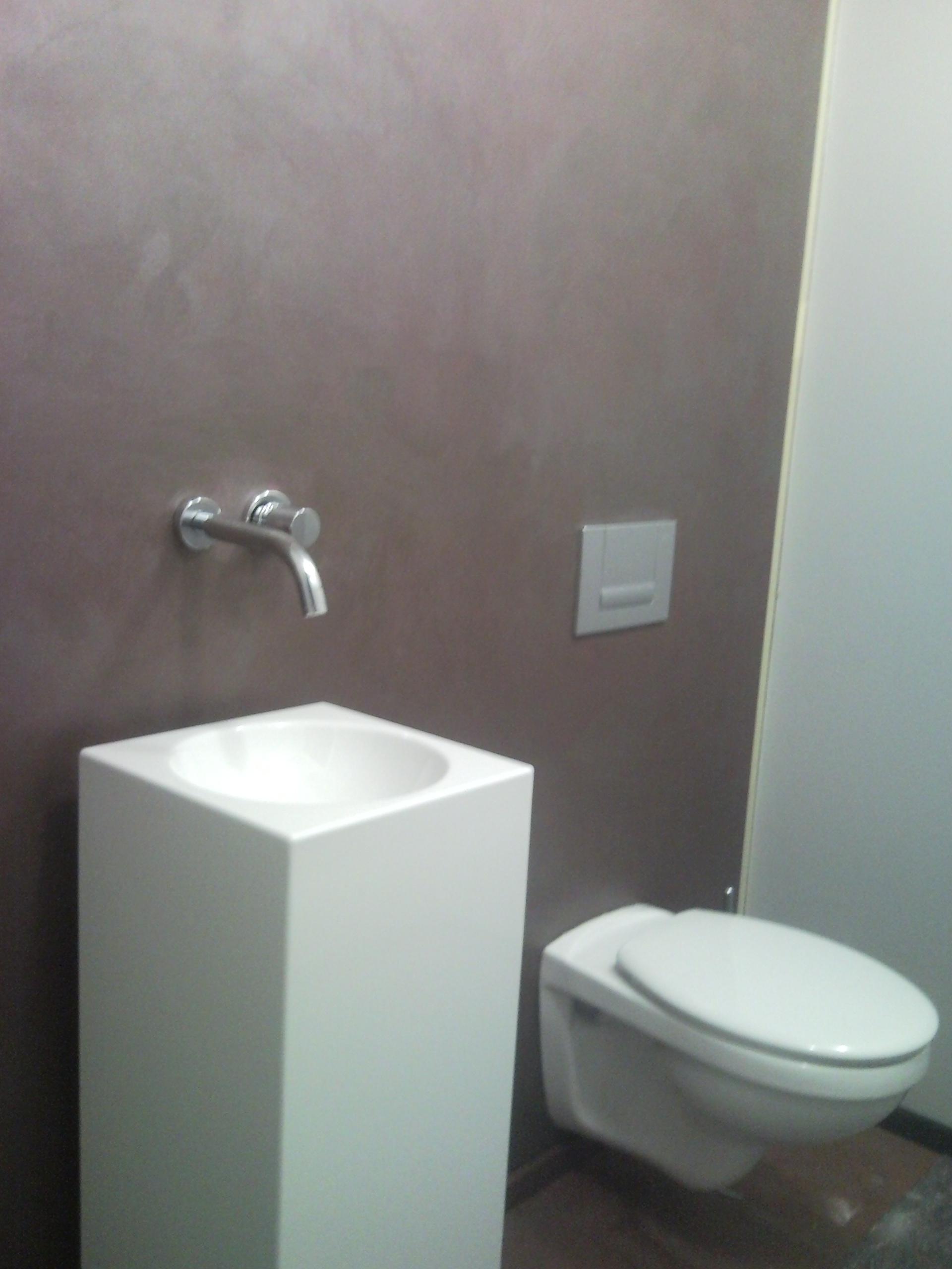 Betonwand, Spachteltechnik Dusche, Spachteltechnik Glattbeton ...
