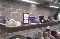 ZIegelwand  Bronx im UGG Shop von Amsterdam