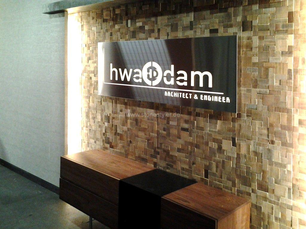 Holzfliesen holzwanddesign holzw nde im neuen design - Wohnzimmer bar traunstein ...