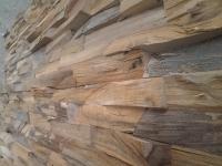 Memory design  geschältes Holz