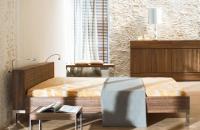 Mediterrane Steinwand Marsalla,Steinpaneel im Schlafzimmer