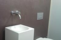 steinwand-beton-badezimmer-2,Waschbecken  und Toilette