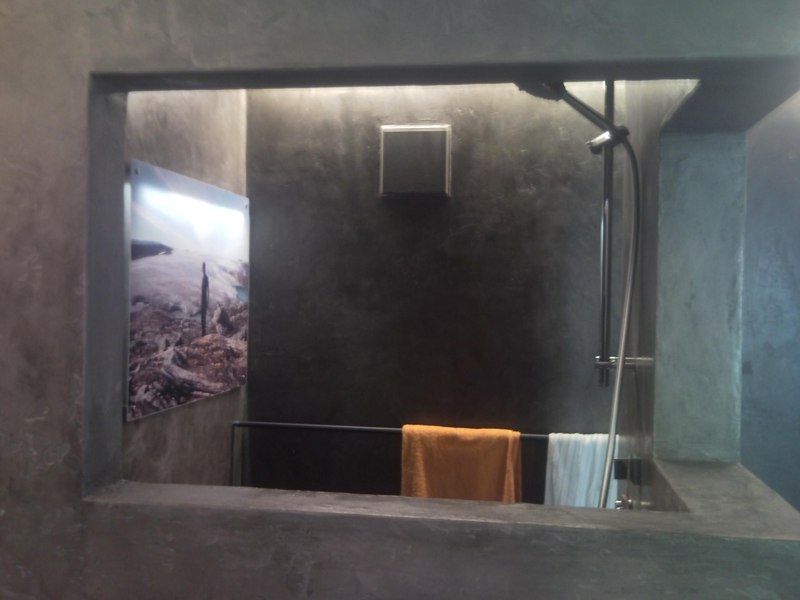 Steinwand Bad Dusche ~ Kreative Bilder Für Zu Hause Design Inspiration