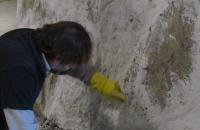 Felsenverabeitung  in Werk