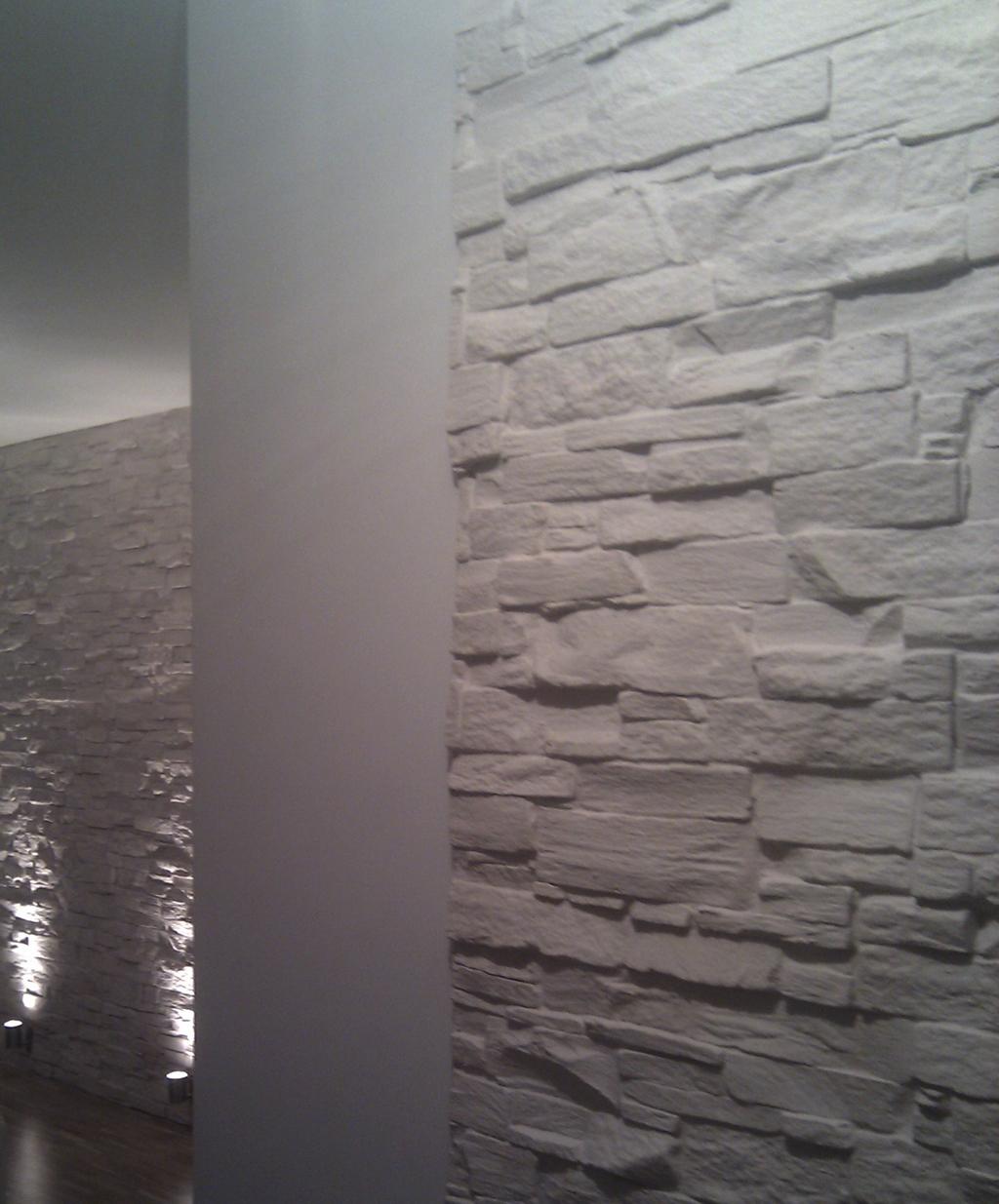 Natursteinwand Wohnzimmer Steinwand Riemchen Dumss