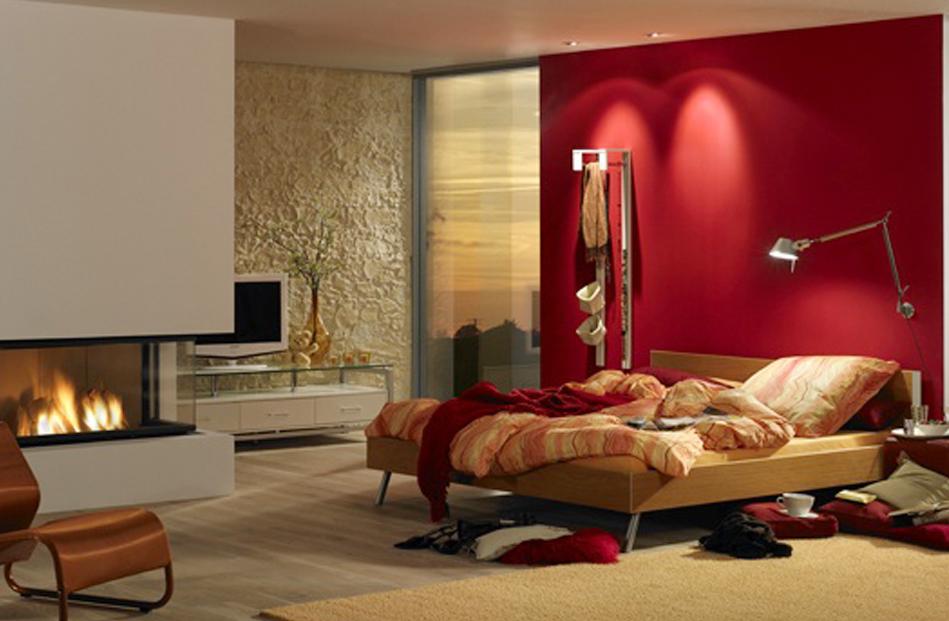 Schlafzimmer Ruckwand Gestalten :  wohnzimmer bar traunstein  Wohnzimmer, Steinwand im Schlafzimmer