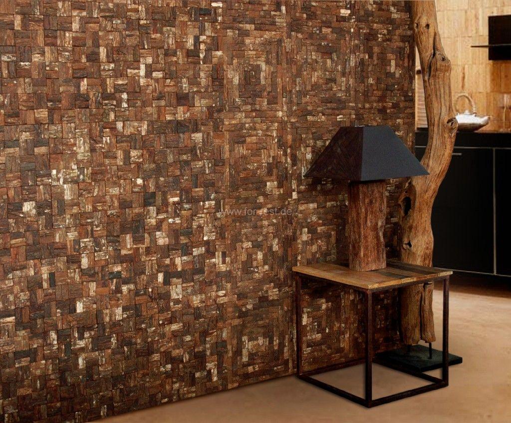 Holzfliesen Holzwanddesign Holzwande Im Neuen Design