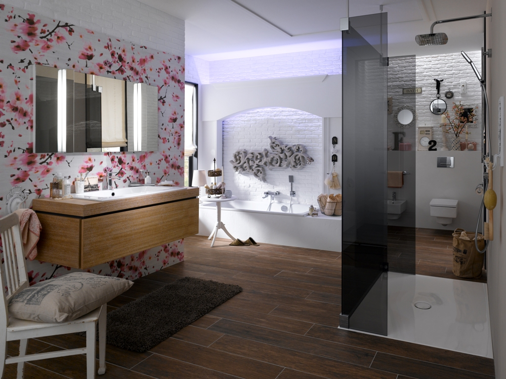 ziegelwand weiss im badezimmer im hausgang ziegelwand im hotel steinwand ziegel weiss. Black Bedroom Furniture Sets. Home Design Ideas