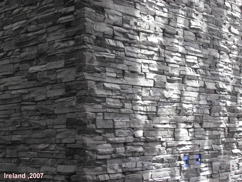 wohnzimmer steinwand tapete reiquest - Steinwand