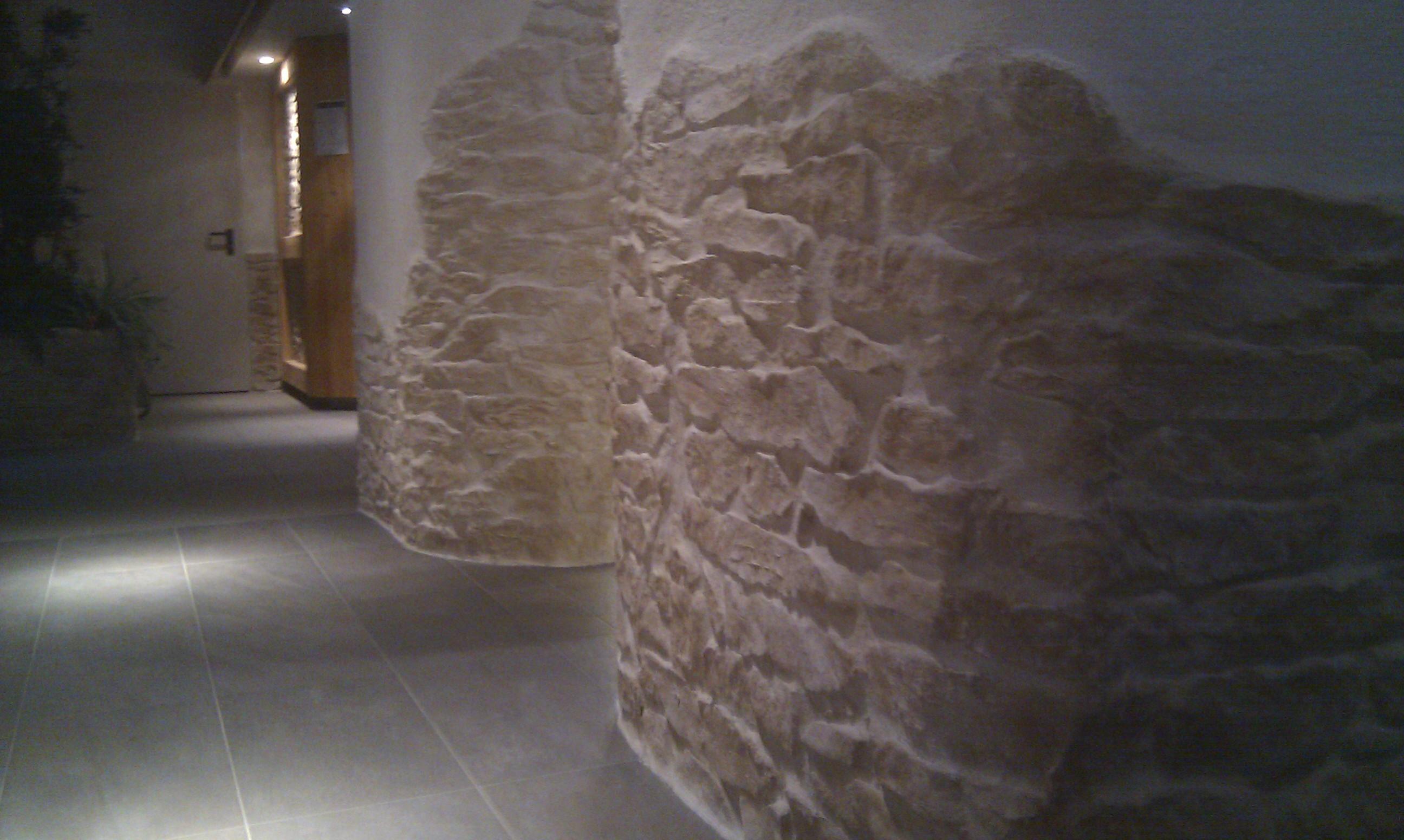 Steinwand mediterran, steinwand für innen und aussenwände, steine ...