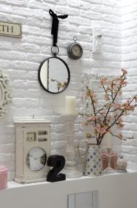 badezimmer mit weissen ziegel badezimmer neu mit ziegeln ziegelwand im badezimmer. Black Bedroom Furniture Sets. Home Design Ideas